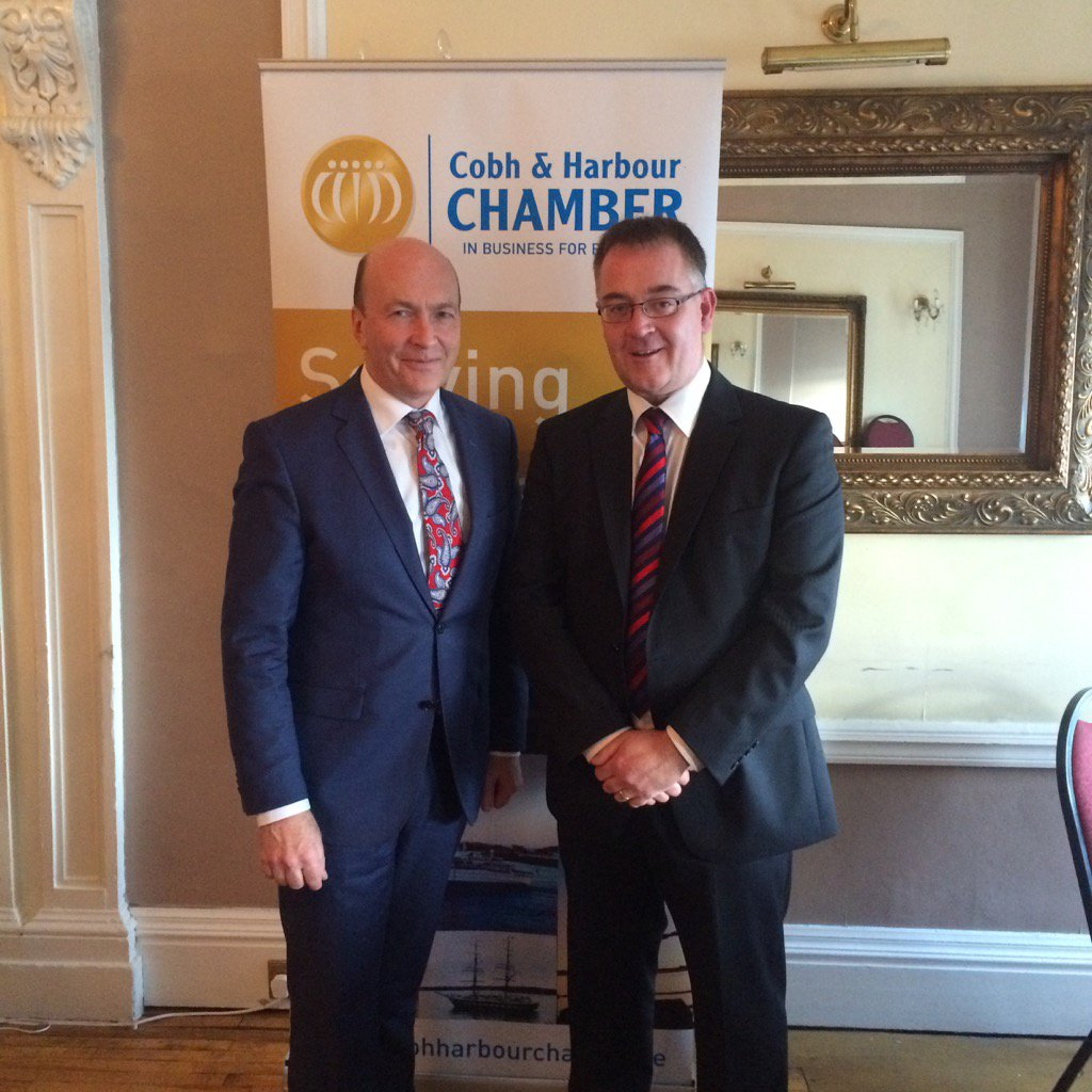 Alf Smiddy and Vice-President Tony McKweon