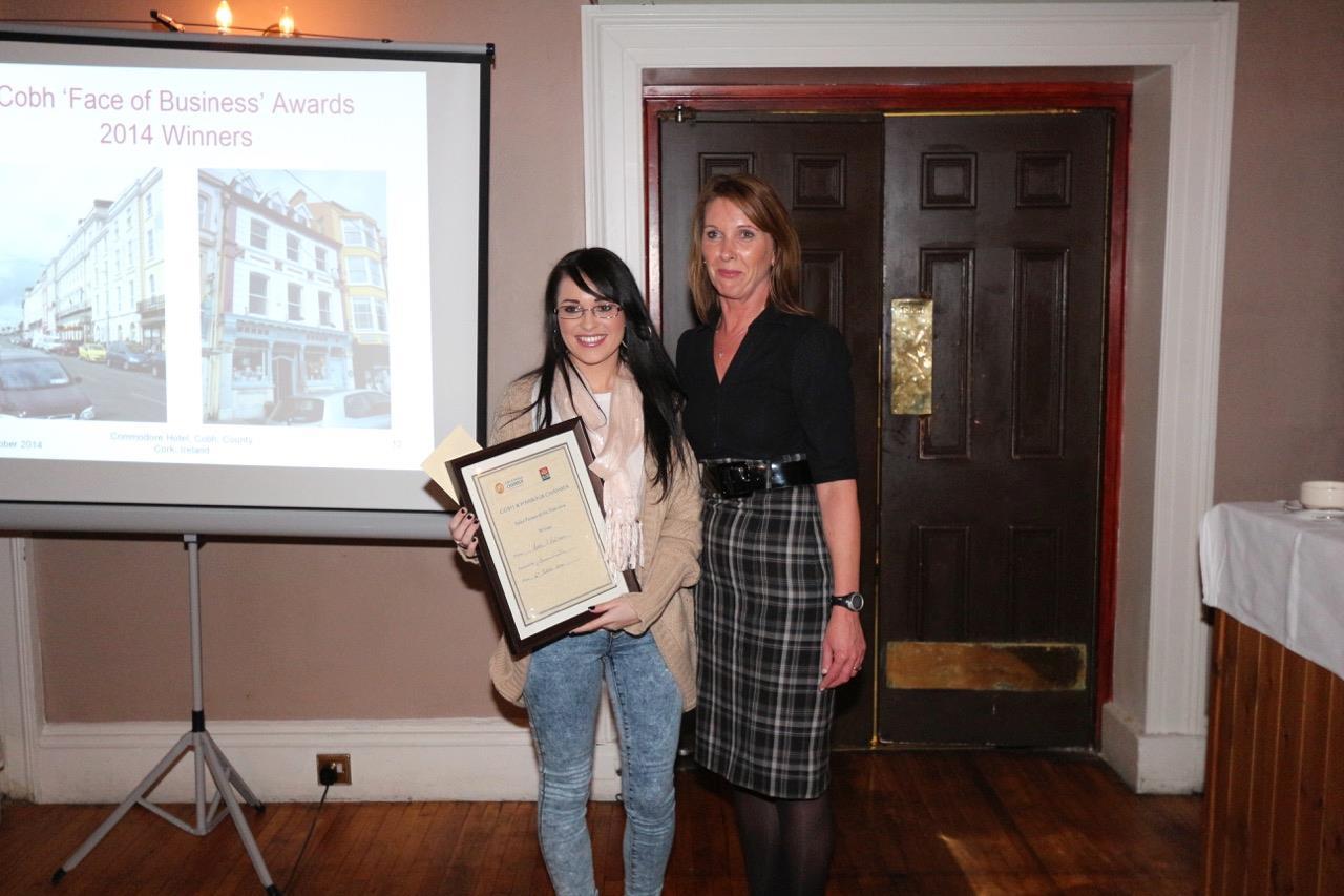 Katie O'Halloran, Cobh Pharmacy - Winner Salesperson of the Year 2014